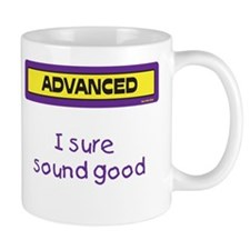 I sure sound good Mug (Yellow and Purple)
