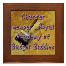 """""""Badger Buddies"""" Framed Tile"""