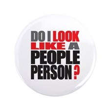 """People Person 3.5"""" Button"""