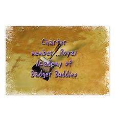 """Badger Buddies"" Postcards (Package of 8)"