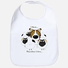 Rough Collie - I Herd... Bib