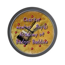 """Badger Buddies"" Wall Clock"