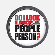 People Person Wall Clock