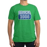 Obama 2008 Men's Fitted T-Shirt (dark)