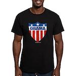 Obama Men's Fitted T-Shirt (dark)