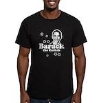 Barack the Casbah Men's Fitted T-Shirt (dark)