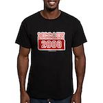 MCCAIN 2008 Men's Fitted T-Shirt (dark)