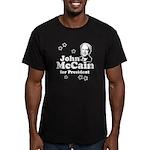 John McCain for president Men's Fitted T-Shirt (da