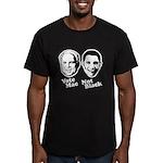 Vote Mac Not Black Men's Fitted T-Shirt (dark)