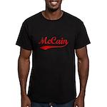 John McCain Men's Fitted T-Shirt (dark)
