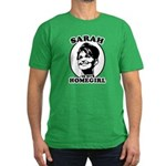 Sarah Palin is my homegirl Men's Fitted T-Shirt (d