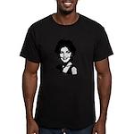Sarah Palin Retro Men's Fitted T-Shirt (dark)