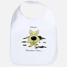 Cairn Terrier - I Hunt... Bib