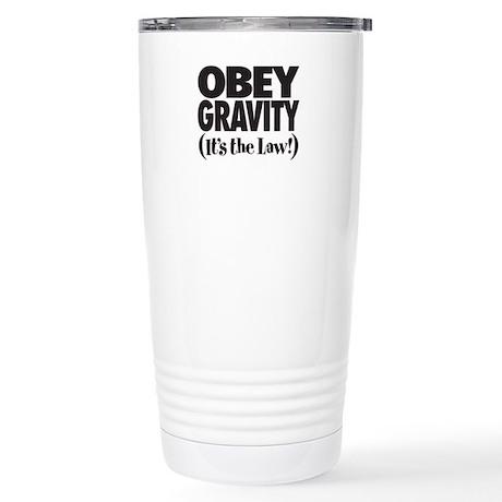 Law of Gravity Stainless Steel Travel Mug