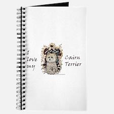 Cairn Terrier - Dog Portrait Journal