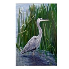 Blue Heron Postcards (Package of 8)