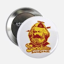 "Socialism 2.25"" Button"