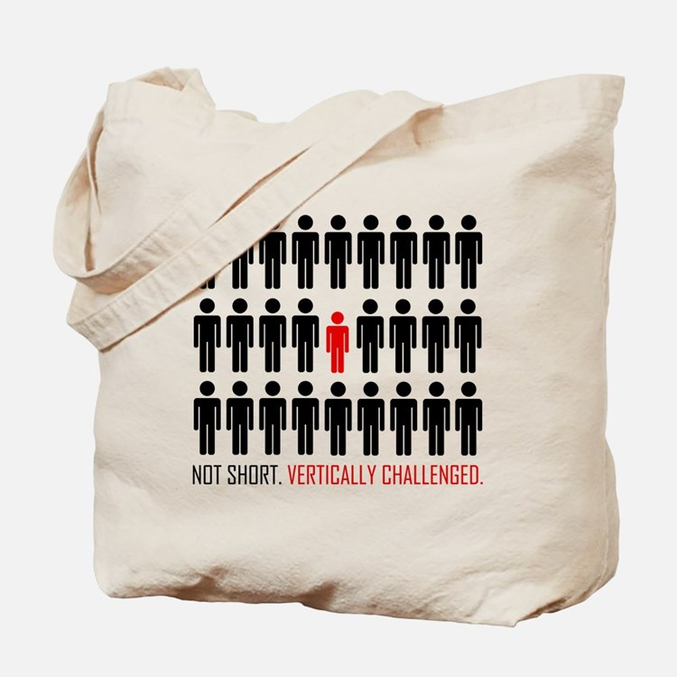 Vertically Challenged Tote Bag