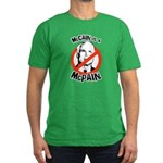 McCain is a McPain Men's Fitted T-Shirt (dark)