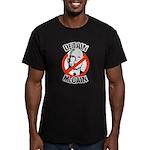 Anti-McCain: Detain McCain Men's Fitted T-Shirt (d