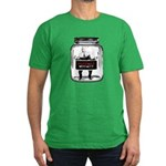 Contain McCain (in a jar) Men's Fitted T-Shirt (da