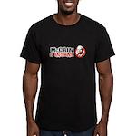 McCain is insane Men's Fitted T-Shirt (dark)