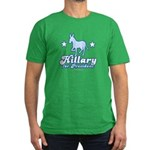 Hillary for President Men's Fitted T-Shirt (dark)