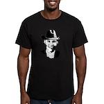 Cowboy Obama Men's Fitted T-Shirt (dark)
