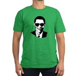Obama Raybans Men's Fitted T-Shirt (dark)