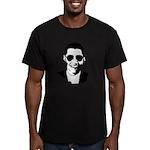 Barack Obama Sunglasses Men's Fitted T-Shirt (dark