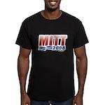 Mitt 2008 Men's Fitted T-Shirt (dark)