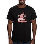 Mitt for President Men's Fitted T-Shirt (dark)