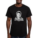 Edwards for President Men's Fitted T-Shirt (dark)