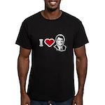 I Love John Edwards Men's Fitted T-Shirt (dark)