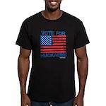 Vote for Huckabee Men's Fitted T-Shirt (dark)
