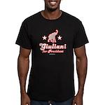 Giuliani for President Men's Fitted T-Shirt (dark)