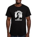 Al Gore is my homeboy Men's Fitted T-Shirt (dark)