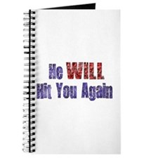 He Will Hit You Again Journal