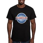 Richardson for President Men's Fitted T-Shirt (dar