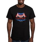 Newt Gingrich Men's Fitted T-Shirt (dark)