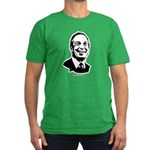 Michael Bloomberg Face Men's Fitted T-Shirt (dark)