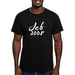 Jeb Bush Autograph Men's Fitted T-Shirt (dark)