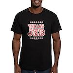 Team Jeb Men's Fitted T-Shirt (dark)
