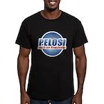Pelosi for President Men's Fitted T-Shirt (dark)