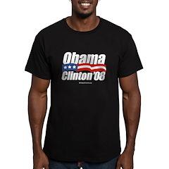 Obama Clinton 08 T