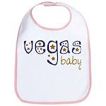 Vegas Baby Bib