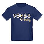 Vegas Baby Kids Dark T-Shirt