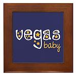 Vegas Baby Framed Tile