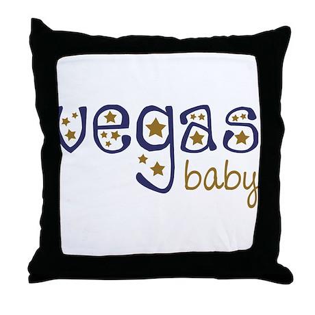 Vegas Baby Throw Pillow