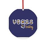 Vegas Baby Ornament (Round)